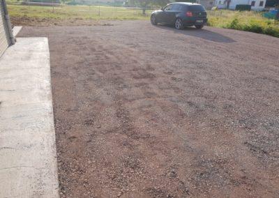 Réalisation d'un parking pour voiture